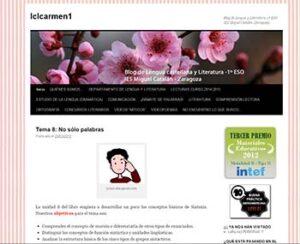 Blogs de Lengua castellana y literatura para ESO y Bachillerato 3