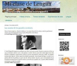 Blogs de Lengua castellana y literatura para ESO y Bachillerato 9