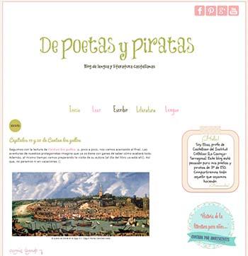poetas y piratas blogs de lengua