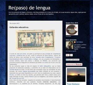 Blogs de Lengua castellana y literatura para ESO y Bachillerato 10