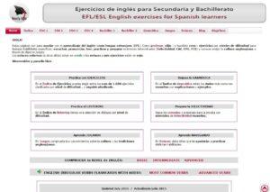 35 Webs para aprender inglés en Secundaria 33