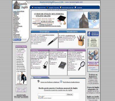 MANSIÓN INGLÉS webs para aprender inglés