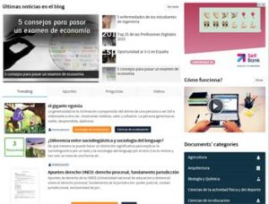 Redes sociales educativa: Docsity