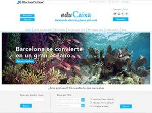 eduCaixa: una plataforma innovadora para complementar las clases 2
