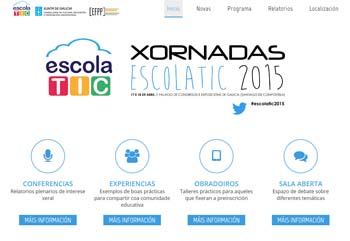 Xornadas ESCOLATIC 2015, la tecnología al servicio de las aulas