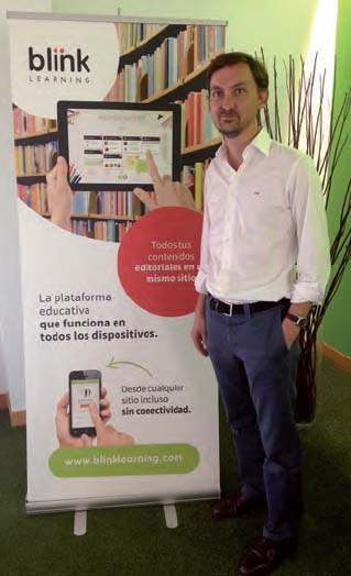 Gonzalo Baranda, director de Blinklearning en España