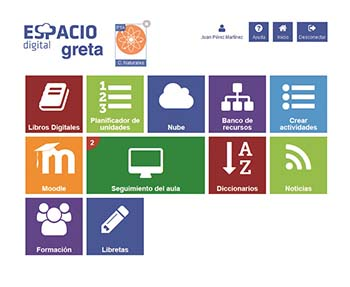 Plataformas educativas - Espacio Digital Greta