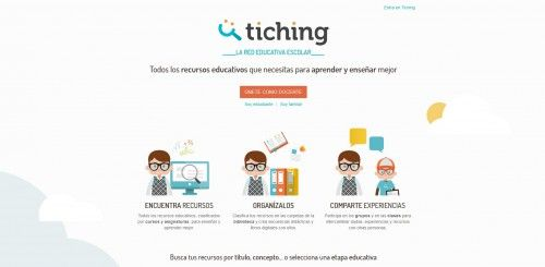 Plataformas educativas - Tiching