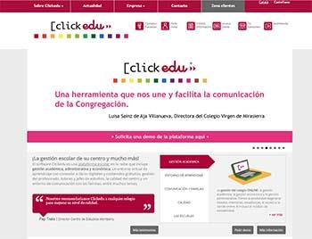 Plataformas educativas - Clickedu