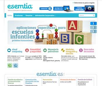 Esemtia - Plataformas educativas