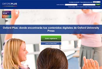 Plataformas educativas - Oxford Plus