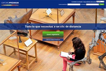 Plataformas educativas - Oxford Premium