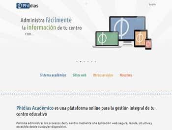 Phidias Académico - Plataformas educativas
