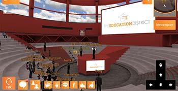 'Mundos virtuales 3D para la educación', una conferencia on line de The Education District