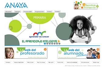 Proyecto digital Anaya
