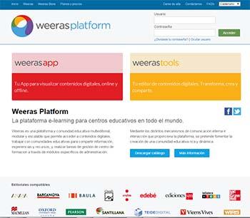 Plataformas educativas - Weeras