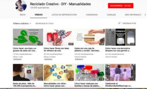 expresión plastica recurso vídeo manualidades youtube