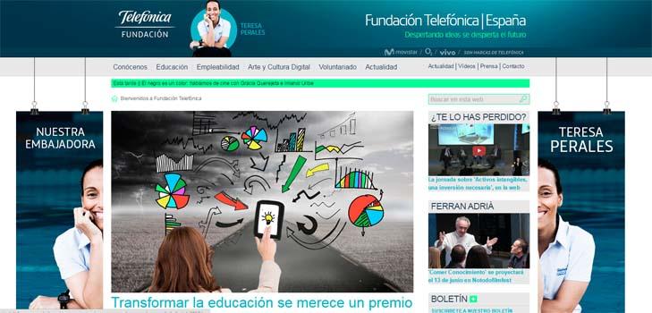 'Premio Escuelas para la Sociedad Digital 2015', de Fundación Telefónica