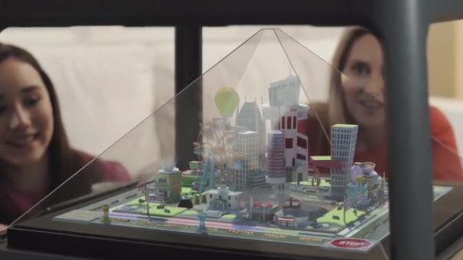 ¡Convierte las imágenes de tu móvil en hologramas 3D! 1
