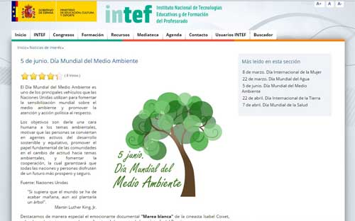 medio intef web
