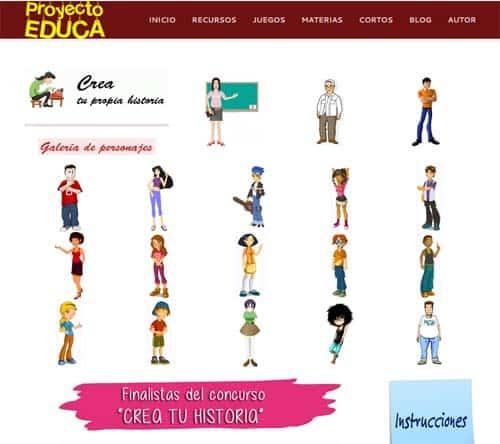 ProyectoEduca: recursos multimedia para educar en valores 4