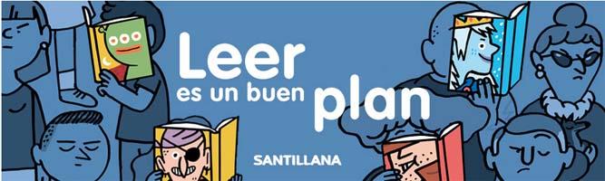 Santillana presenta su plan lector lleno de recursos 5
