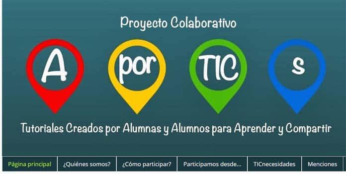 Proyectos colaborativos: buenas prácticas educativas con TIC 1