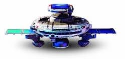 Robots en el aula flota espacial