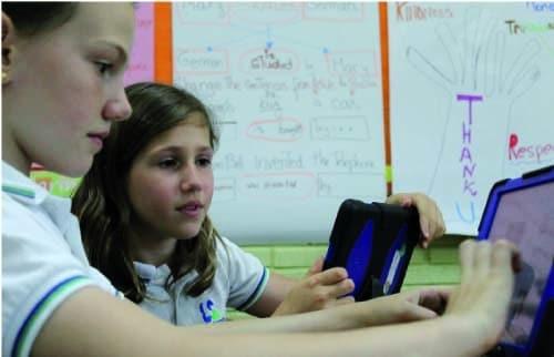 Un alumno, un iPad en el Colegio Liceo Sorolla de Madrid 2