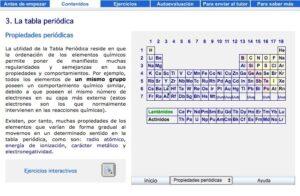 Recursos para repasar y estudiar la tabla periódica de los elementos 12