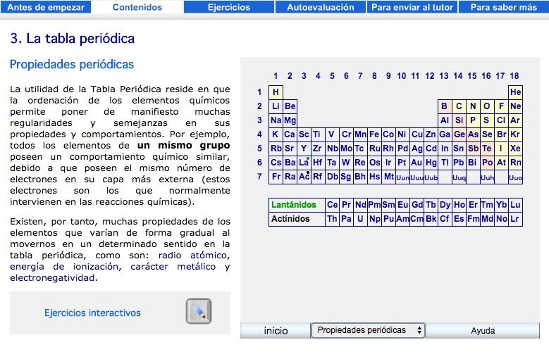 Recursos para repasar y estudiar la tabla peridica de los elementos tabla peridica urtaz Gallery