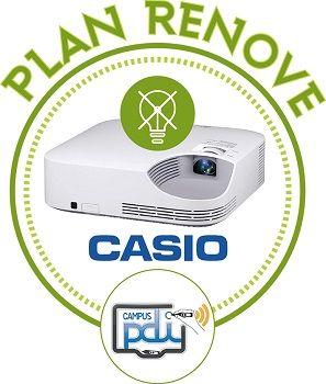 CampusPDI y Casio lanzan un Plan Renove para proyectores