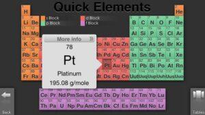 Recursos para repasar y estudiar la tabla periódica de los elementos 13
