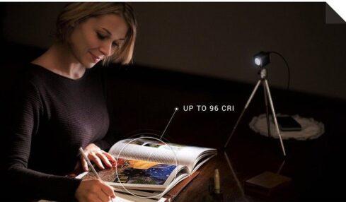 Relio: iluminación natural para leer 1