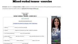 tiempos verbales inglés ejercicios