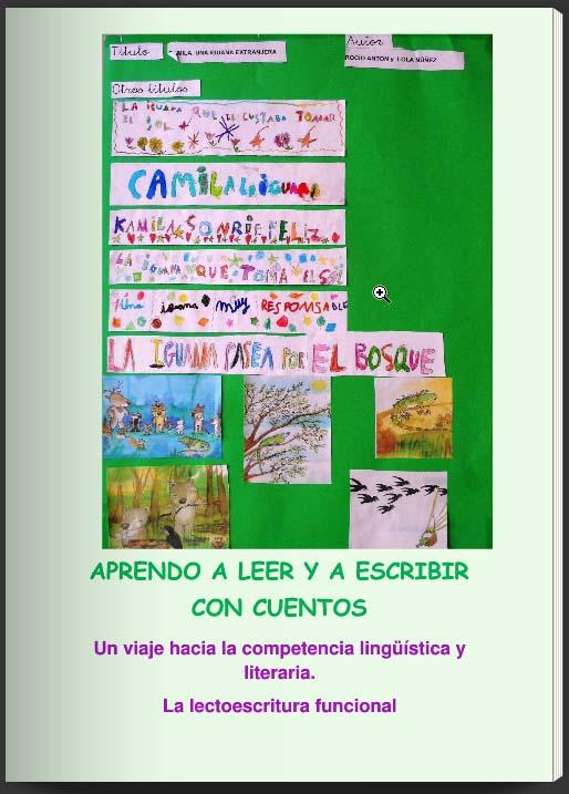 Lectoescritura funcional para enseñar a leer y escribir cuentos 4