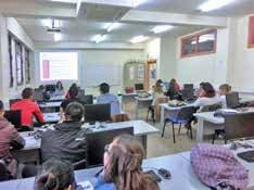 Ecoproyección en el Instituto Clara del Rey (Madrid) 2