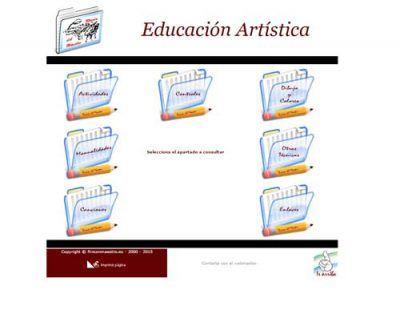 EDUCACIÓN ARTÍSTICA, El rincón del Maestro