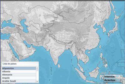Puzzle países del mundo