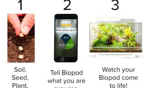 Biopod: un microhábitat para experimentos