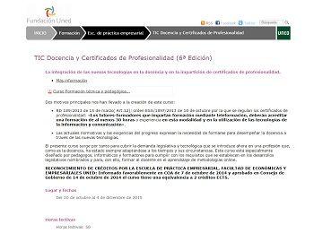 curso profesionalidad fundación uned
