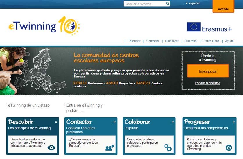 Celebrando 10 años de la ciudadanía activa con eTwinning
