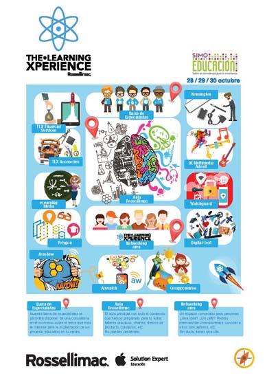 The Learning Xperience, el espacio de Rossellimac en SIMO EDUCACIÓN 2015
