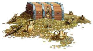 caza del tesoro