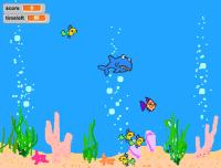 Proyecto Scratch, un juego de peces