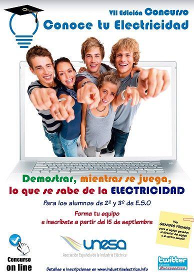 Concurso on line sobre energía eléctrica para 2º y 3º de ESO 1