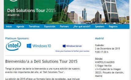 Dell Solutions Tour: novedades tecnológicas, talleres y zona de exposición