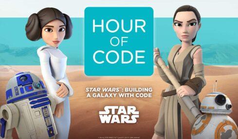 El universo Star Wars llega a Code.org: aprende a programar con Leia, C-3PO, R2-D2...