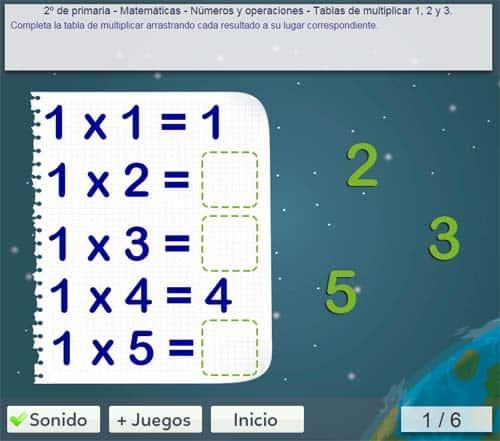 tablas de multiplicar 24