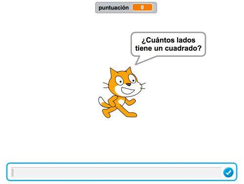 Juego de preguntas y respuestas en Scratch